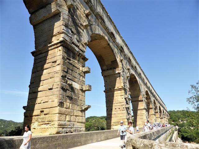 Pont du Gard, detalles