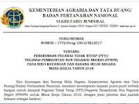 Dibuka !! Penerimaan Pegawai BPN Biro Keuangan Dan Kepegawaian Pusat,  Provinsi Dan Kabupaten  !