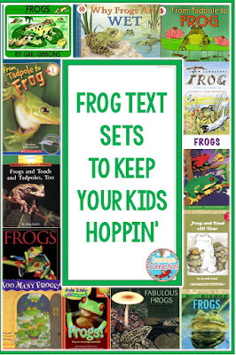 If you teach the life cycle of the frog, than this text set will come in handy. Drop by Virginia is for Teachers to learn more Life Cycle instructional tips.