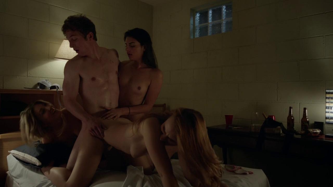 Shameless gf britney light fucking her man's friend in the shower