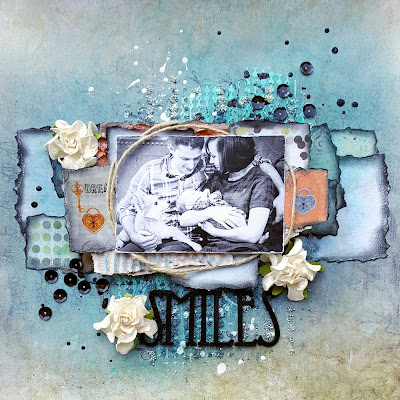 "Scraps of Darkness Kit ""Boys Will Be Boys"" March 2017 by Jessica McFall"