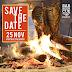 SAVE THE DATE porque vem aí o Barbeercue versão 2.0. Dia 25/11.