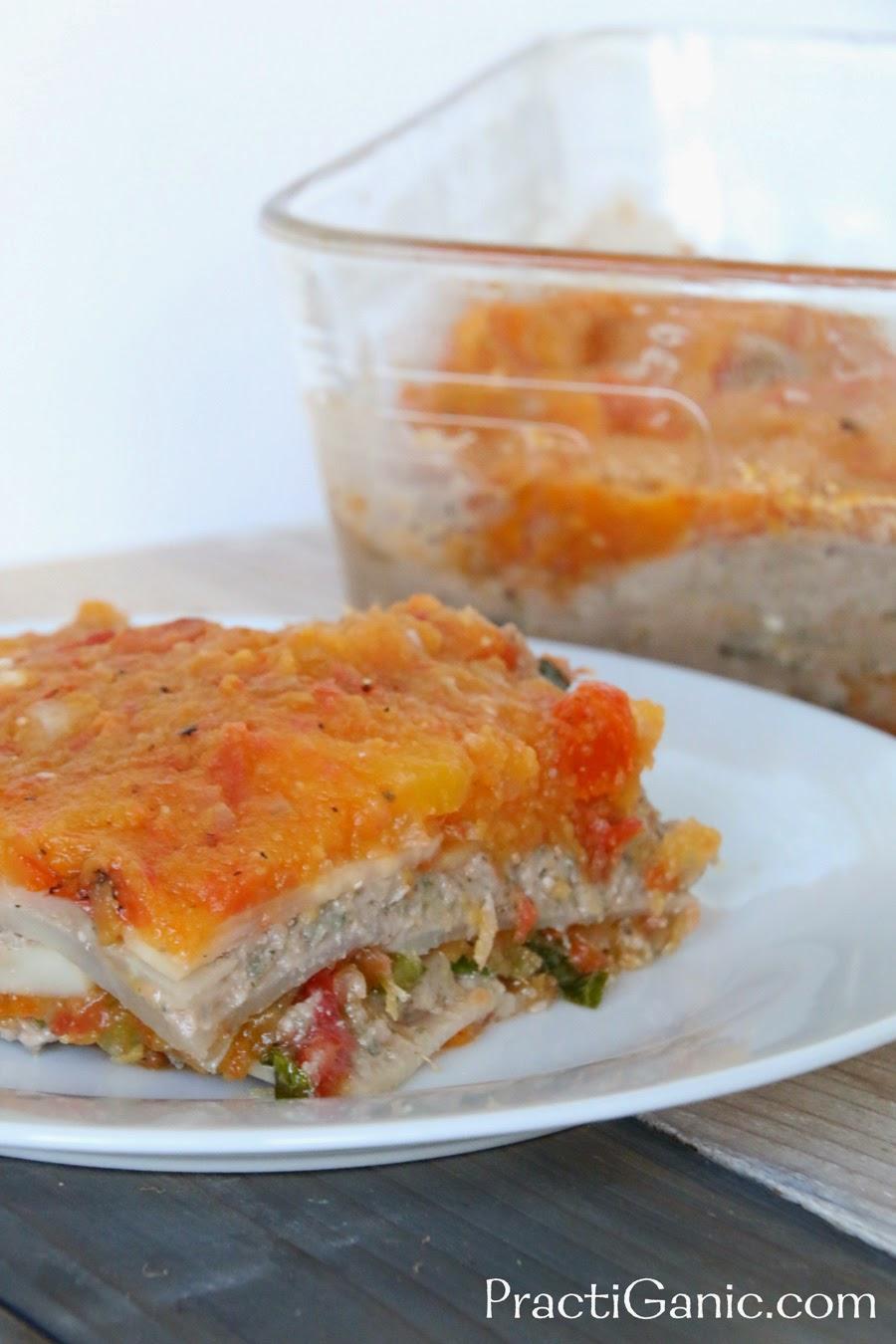 Acorn Squash & Celeriac Lasagna
