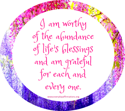 Daily Affirmations 7 March 2016