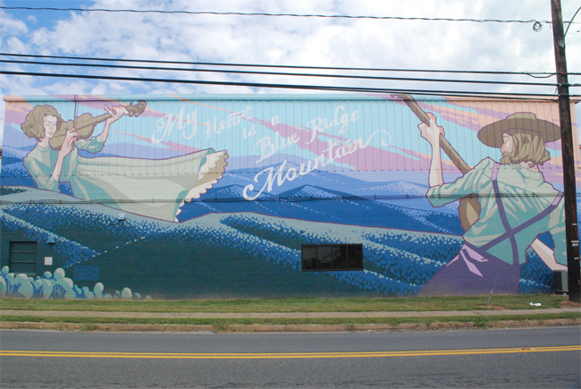 Shenandoah Valley Street Art: Charlottesville | Yeti Crafts