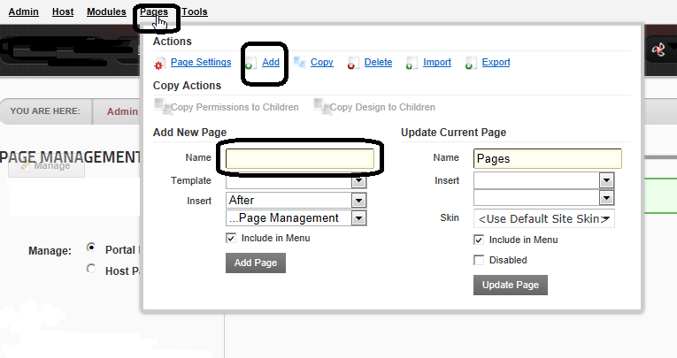 how to delete second page in pages