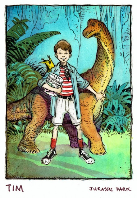 jurassic park cartoon