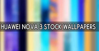 Download Stock Wallpaper Huawei Nova 3 Gratis