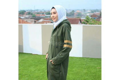 Original Hijacket Beautix MOSSGREEN SPORTY Jaket Panjang Syar'i PREMIUM FLEECE