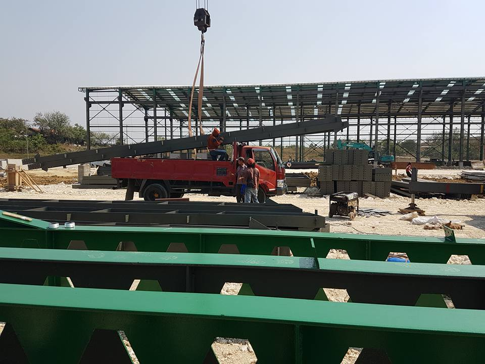 Konstruksi baja Honeycom,struktur baja castella beam,jasa konstruksi baja castella beam,jasa konstruksi baja jawa tengah
