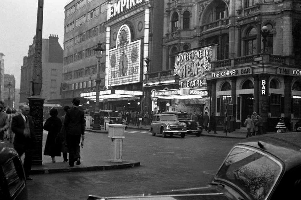Big Living Room Couches Apartment Furniture Street Scenes Of London In 1963 ~ Vintage Everyday