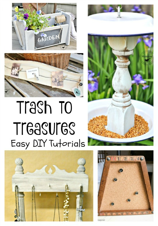 How to Turn Thrifted into Treasures www.homeroad.net
