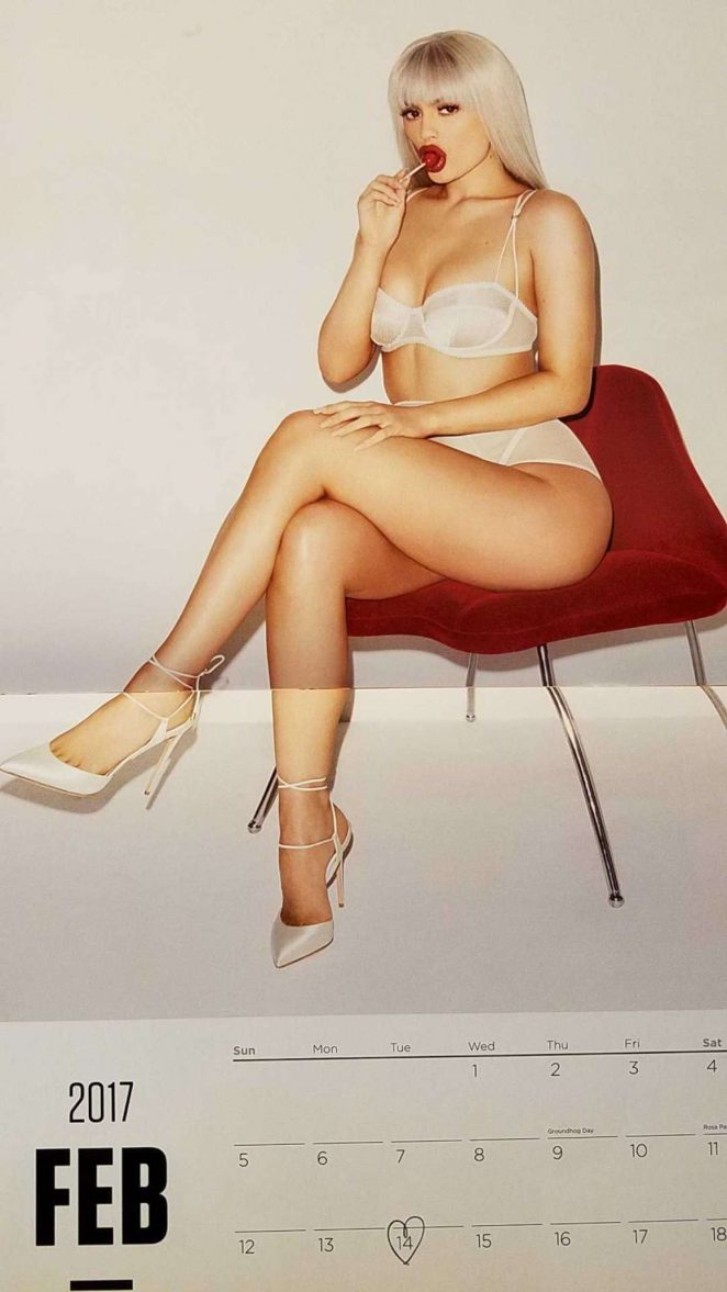 Kylie Jenner - 2017 Calendar, by Terry Richardson : February