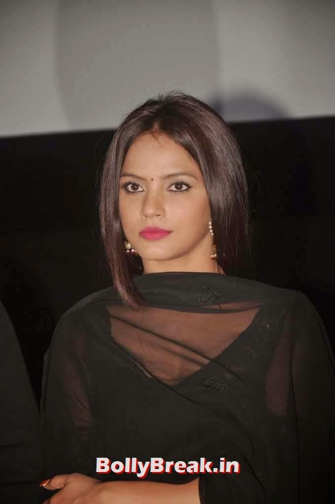 , Black Salwaar Kameez Suit Pics of Actress Neetu Chandra