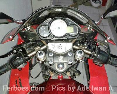 Modifikasi Keren Honda CB150R terbaru 2015