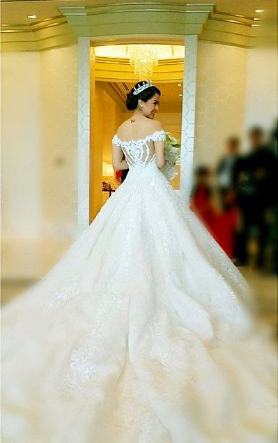 marian rivera wedding gown idea