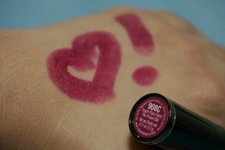 Swatch: Wet N Wild Mega Last Matte Lip Color in Sugar Plum Fairy