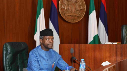 Magu Is Going Nowhere - Osinbajo reacts to Senate's call for sack of EFCC chairman