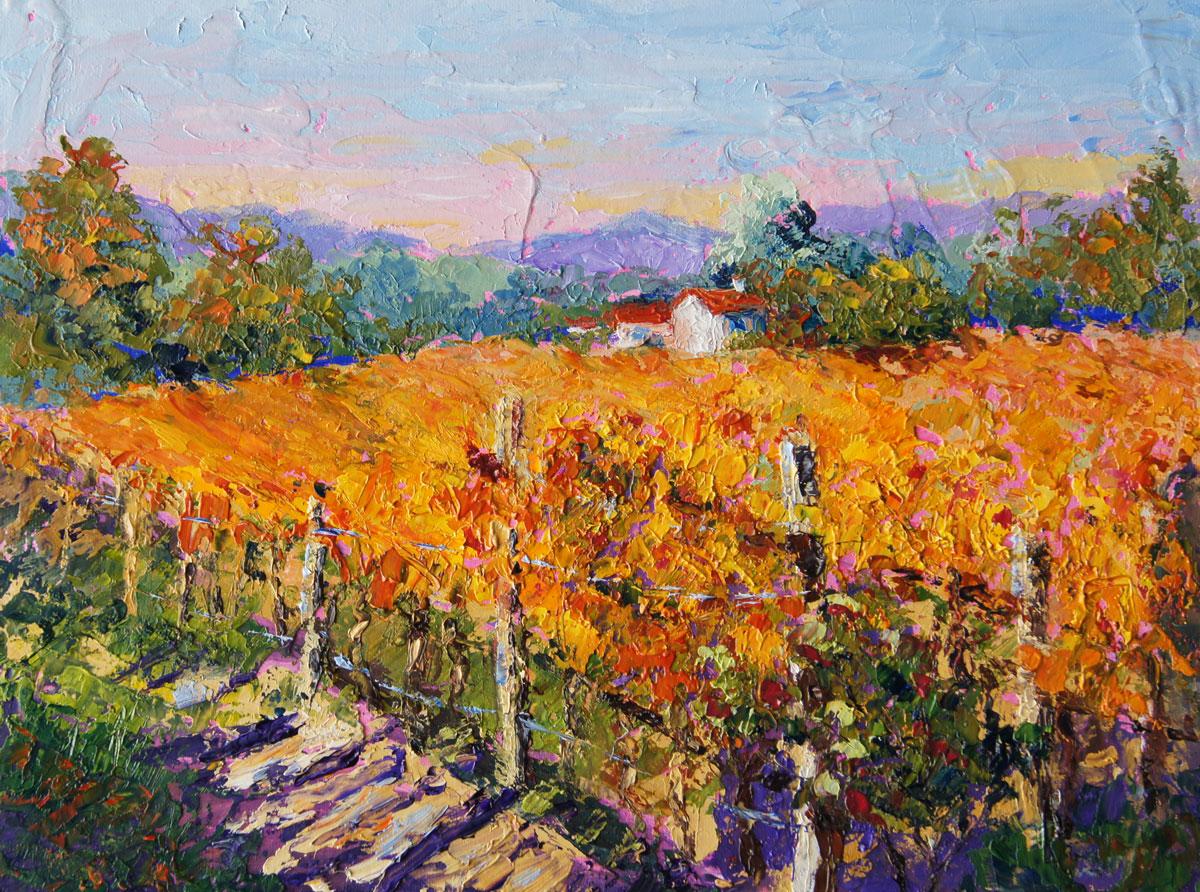 Palette Knife Painters International Autumn Light