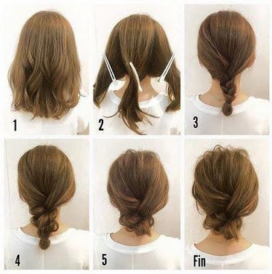 Idées coiffure soirée pour les fêtes de Noël rapides et faciles