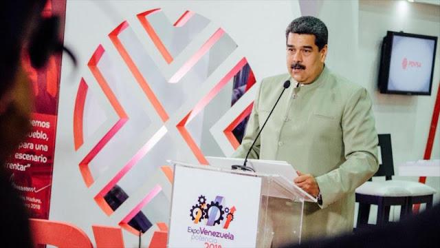 Maduro Alerta que derecha pretende entregar Venezuela al FMI