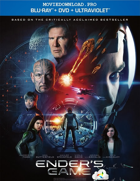 Enders Game 2013 Dual Audio Hindi English 5.1 BRRip 720p
