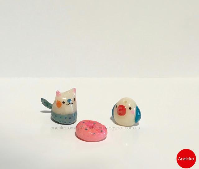 cat and bird russian porcelain