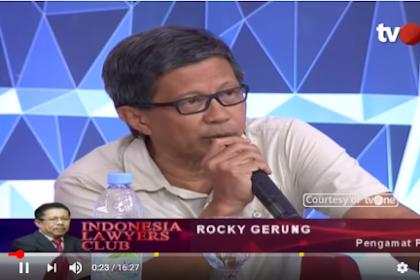 MAKJLEB! Rocky Gerung: Dari 4 Wajah Itu Yang Potensi Memalukan Publik Yang Mana?