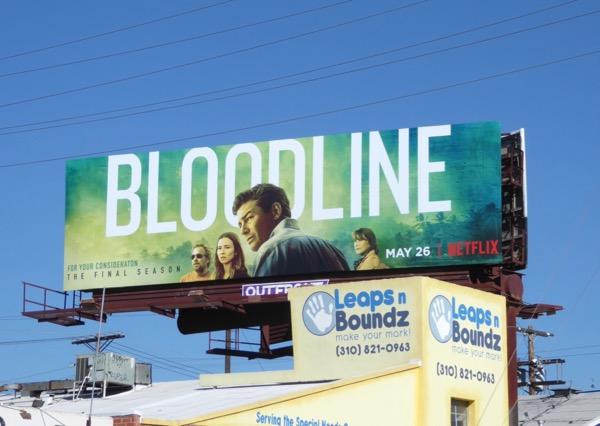 Bloodline final season 3 billboard