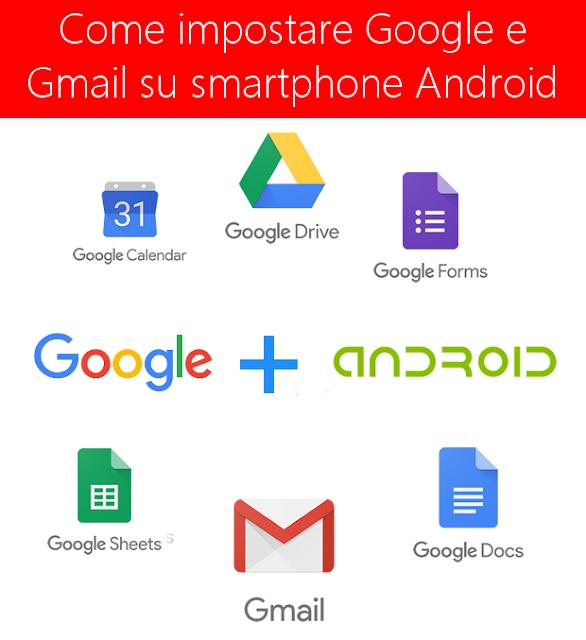 Come impostare Gmail su smartphone Android