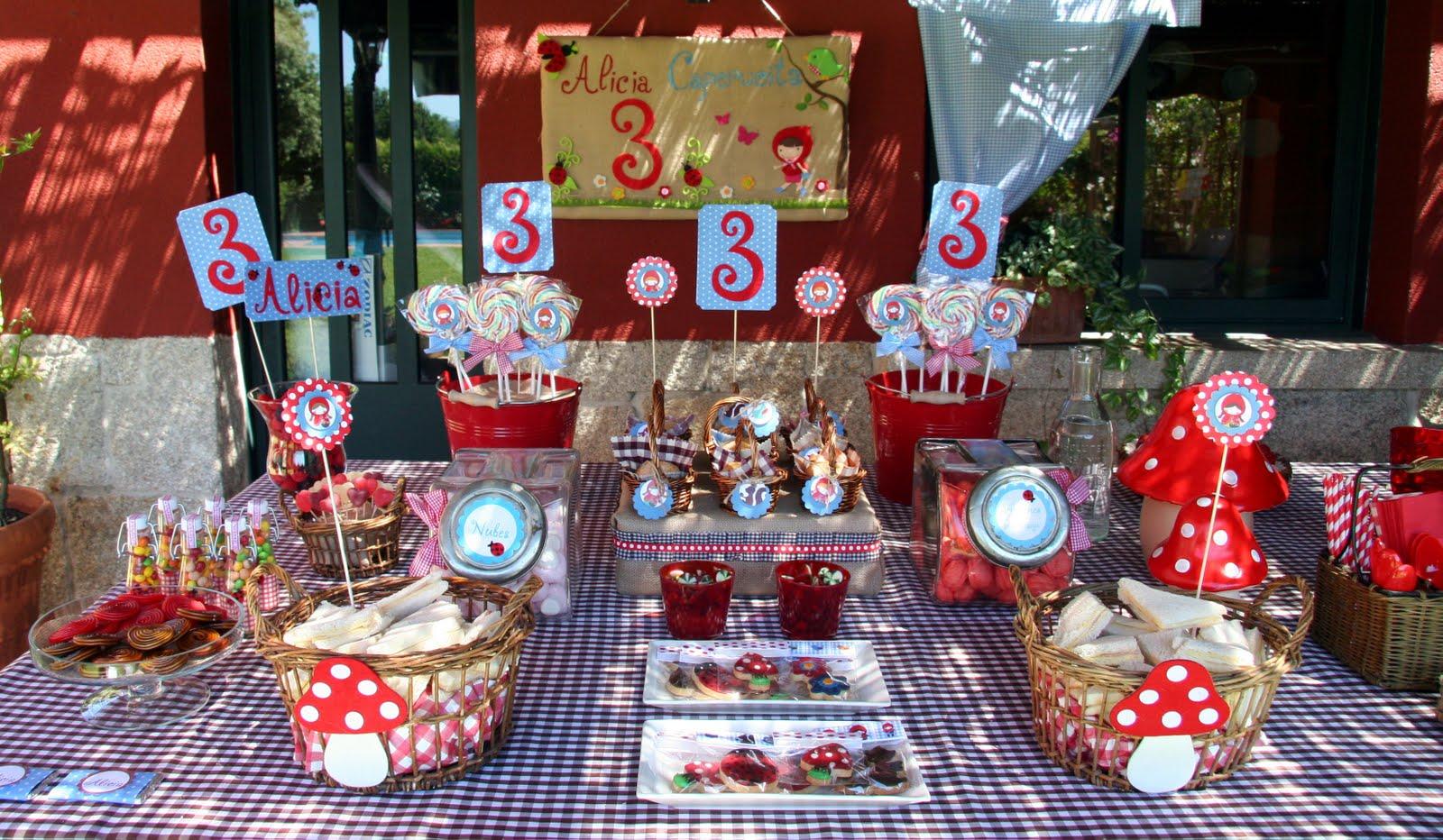 Decoration42 decoracion mesa cumplea os - Menu para fiesta de cumpleanos en casa ...