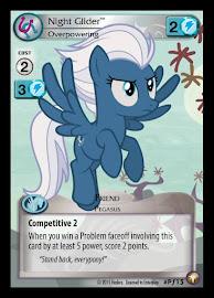 My Little Pony Night Glider, Overpowering Equestrian Odysseys CCG Card