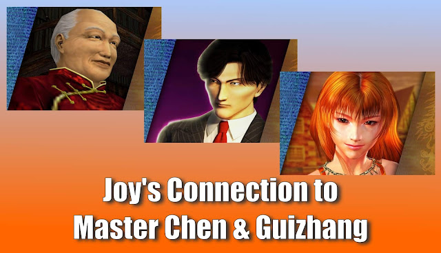 Joy's Connection to Master Chen & Guizhang