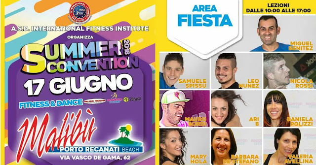 Summer Convention, 17 giugno 2018 a Porto Recanati, Macerata
