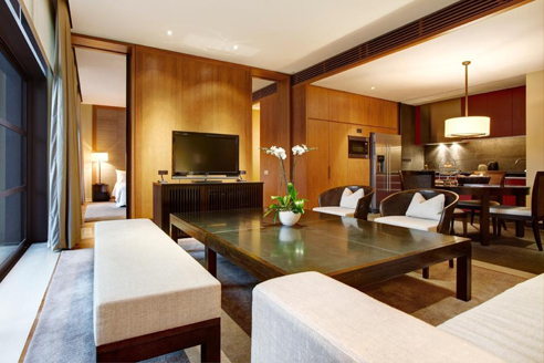 The Club Residences 1 Bedroom Suites - Living Hall
