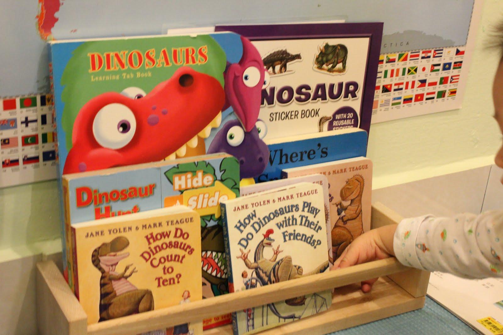 Little Tiger Growing Up Tot School D Is For Dinosaur Week