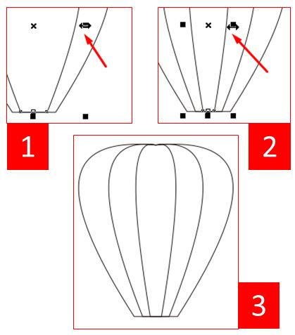 Cara Membuat Balon Udara di CorelDRAW