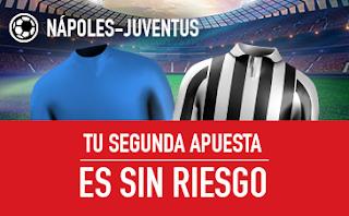 sportium promocion Napoles vs Juventus 1 diciembre