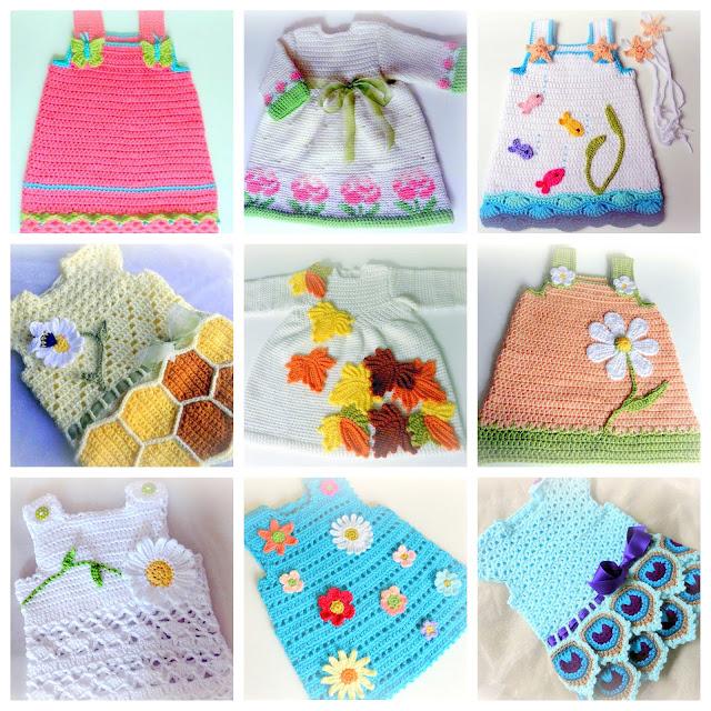 baby dresses crochet patterns