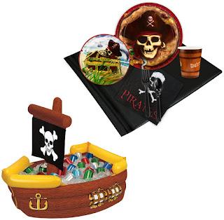 Pirates Tableware & Cooler Kit - Multi-colored