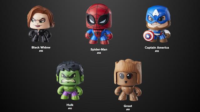 Marvel Mighty Muggs 3