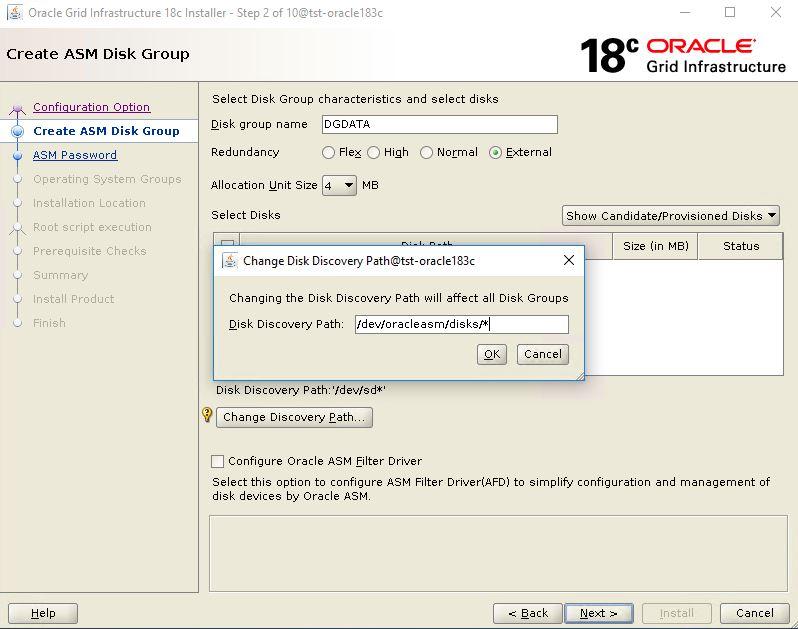 Oracle 18 3 Standalone on premise part 2 - Instalando o Grid