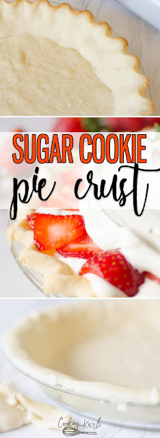 Sugar Cookie Pie Crust
