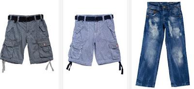 Bermudas y pantalón vaquero para niño baratos