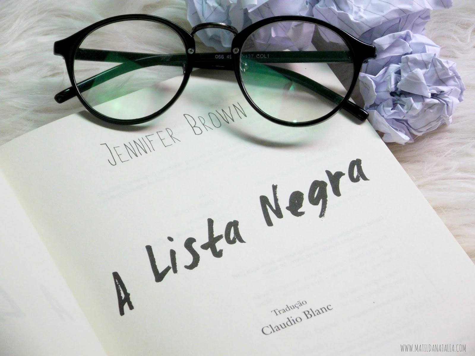 A LISTA NEGRA - JENNIFER BROWN