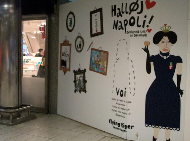 Tiger stores, Tiger Napoli, Stazione Centrale, stile danese, oggettistica, gadget