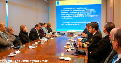 Meeting At The Headquarters Of Chile's Civil Aviation Department