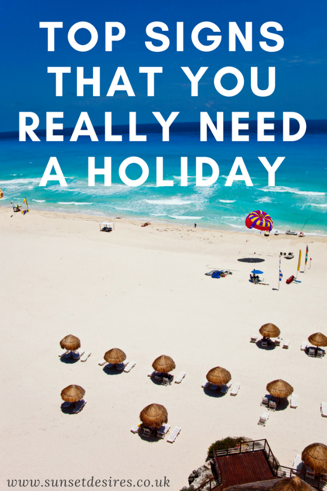 Top Signs that you REALLY Need a Holiday Banner with a beach in the back.