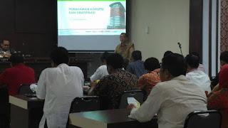 KPK Berikan Pemahaman Tentang Gratifikasi Di Payakumbuh