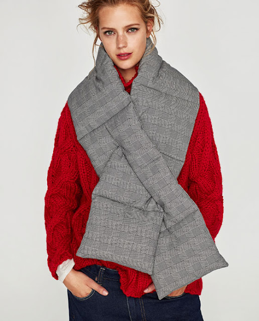Bufanda de Zara oi17